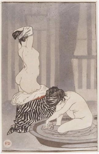 Beaufrère Adolphe Femmes à leur toilette.jpg