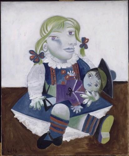 Maya à la poupée 16 Janvier 1938 Picasso.jpg
